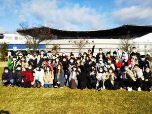京都水族館(午前集合写真)
