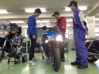 【来校型】スズキのバイク整備体験 のイメージ