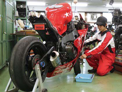 二輪自動車整備科 のイメージ