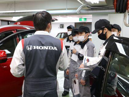 【来校型】自動車整備科 のイメージ