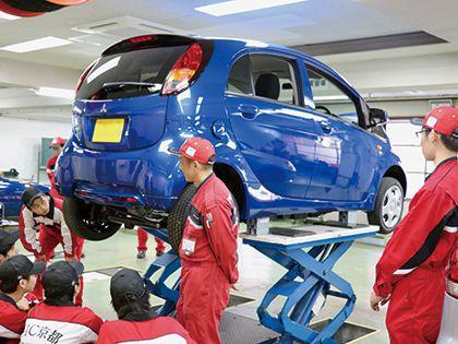 京都三菱の企業連携スペシャル(一級自動車整備科・自動車整備科) のイメージ