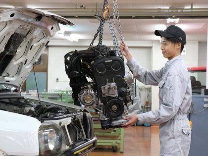 【来校型】一級自動車整備科 のイメージ