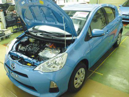 一級自動車整備科(4年制) のイメージ