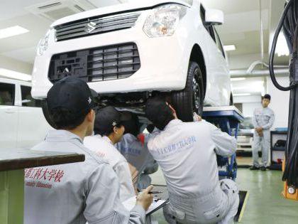 自動車整備科 のイメージ