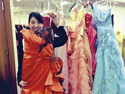 カラー診断付きドレス体験! のイメージ
