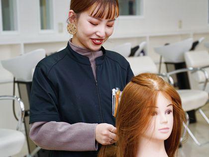 カット・カラー・ワインディング ブライダルヘアアレンジ体験 のイメージ