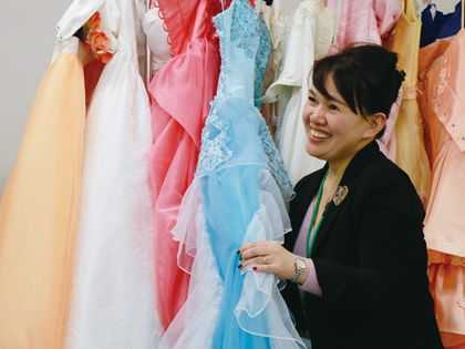カラー診断付きドレス体験 のイメージ