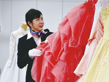 カラー診断付ドレス体験 のイメージ