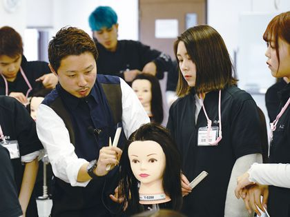美容師を本気で目指す学生必見!! のイメージ