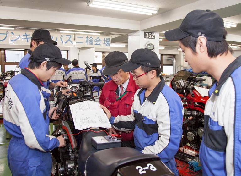 専門学校YIC京都工科自動車大学校のお問い合わせ