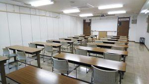 YIC京都貸し教室・貸し会議室:235普通教室/収容人数34人