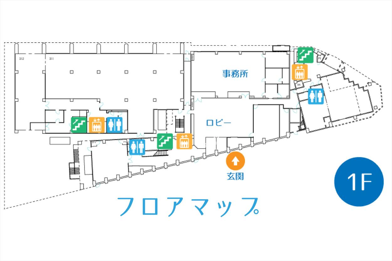 YIC京都の貸し会議室フロアガイド